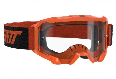 Leatt Velocity 4 5 Orange Fluo Mask   Pantalla Clara 83