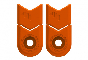 Prot ge-Crank All Mountain Style Crank Defender Naranja