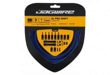 Jagwire 2x Pro Shift Kit Sid Azul