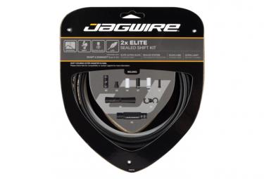 Kit de cambios sellados Jagwire 2x Elite, negro