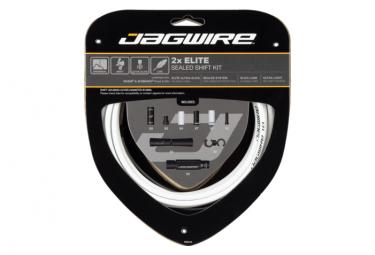 Kit de cambios sellados Jagwire 2x Elite, blanco