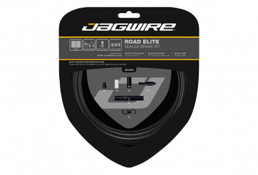 Kit Câbles et Gaine pour Freins Route Jagwire Road Elite Sealed Brake Noir Stealth