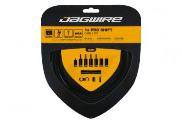Jagwire 1x Pro Shift Kit negro