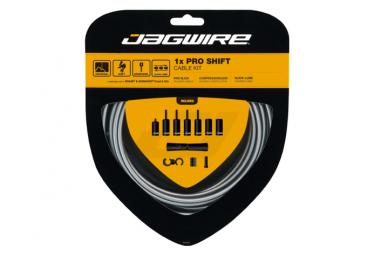 Jagwire 1x Pro Shift Kit Gris hielo