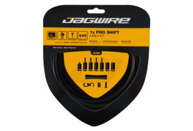Jagwire 1x Pro Shift Kit Stealth Negro