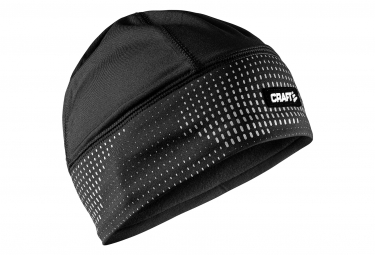CRAFT Brilliant 2.0 reflective black running cap