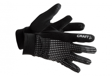 CRAFT 2.0 Thermal Warm Gloves Black Reflective