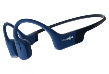 Casque Bluetooth Aftershokz Aeropex Bleu