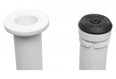 Lizard Skins Signature Grips Aaron Chase Grips White