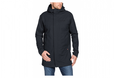 VAUDE Cyclist padded Parka Black