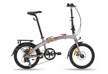 BH Ibiza Pro Folding Bike 18'' Gris