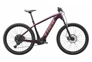 Donna semi-rigida MTB 2020 Trek Powerfly 5 27,5 '' Sram SX Eagle 12V Matte Mulberry / Trek Black
