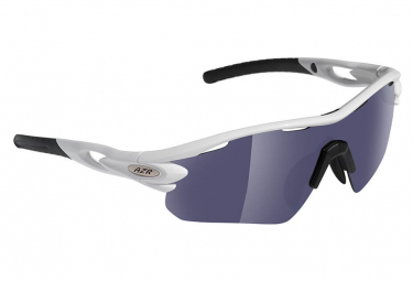 AZR TOUR RX Sports Glasses COVER WHITE - GRAY MIRROR + 2 SCREENS