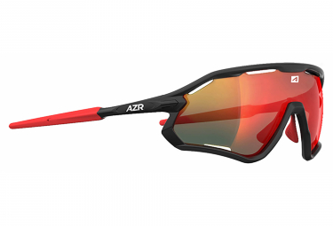 AZR ATTACK RX Black - Red +1 Clear Lens