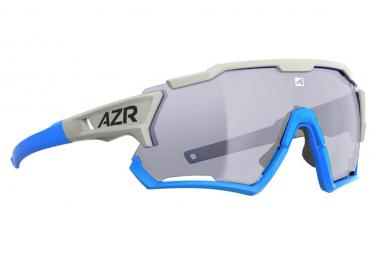 AZR KROMIC TRACK4 RX BLANC/BLEU / ECRAN PHOTOCHROMQUE CAT 0 à 3