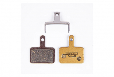 Pastiglie freno Debo Carbo-Metallic Braking