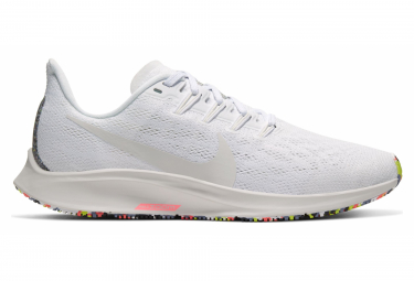 Nike Air Zoom Pegasus 36 White Multicolor Women