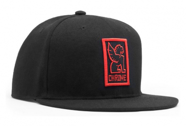 What A Ride Chrome Baseball Cap Black   Red