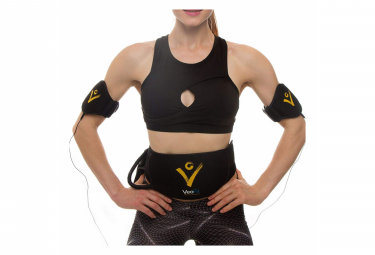 Image of Ceinture electrostimulation et musculation veofit electrostimulateur musculaire abdo bras cuisses et mollets homme et femme