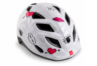MET YOUNGSTERS GENIO Helmet White