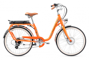Bicicleta Ciudad Mujer Peugeot eLC01 e-Legend Orange