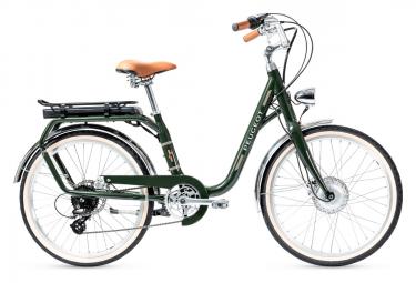Bicicleta Ciudad Mujer Peugeot eLC01 e-Legend Vert