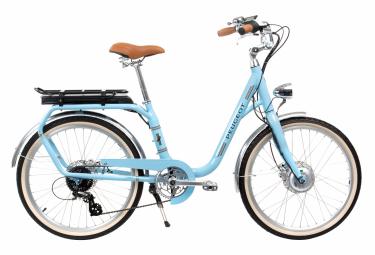 Bicicleta Ciudad Mujer Peugeot eLC01 e-Legend Bleu