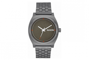 Nixon Time Teller Watch Black / Silver / Red