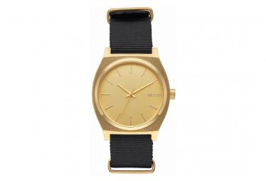 Reloj nixon time teller dorado   negro