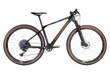 MTB Hardtail Rockrider XC 940 Ltd Sram X01 Eagle 12V 29'' Nero Grigio Mat 2020 - Limited Edition