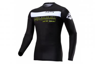 Kenny Evo-Pro Compression Black Long Sleeve Jersey