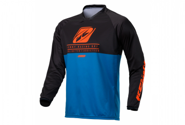 Kenny Charger Long Sleeve Jersey Blue / Orange