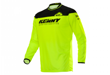 Maillot Manches Longues Kenny Raw / Jaune Fluo