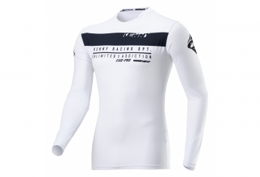 Kenny Evo-Pro Compression White Long Sleeve Jersey