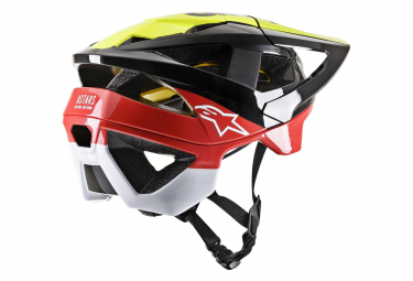 Helmet Alpinestars Vector Tech Pilot Mips Black / Yellow / Red 2019