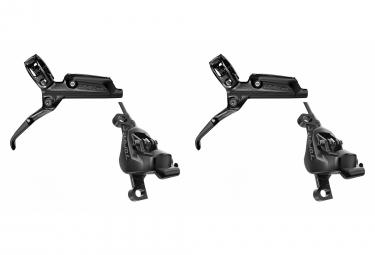 SRAM pair of brakes Level TLM Arrière Nr Anodisé 2000mm