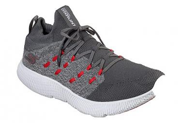 Zapatillas Skechers Go Run 7 para Hombre Gris / Rojo