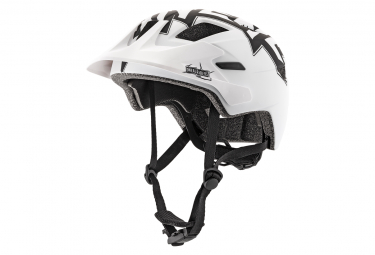 O'Neal Rooky Stixx Youth All Mountain Helmet Black White
