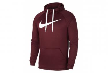 Nike Hooded Sweatshirt Men Dry Training Red