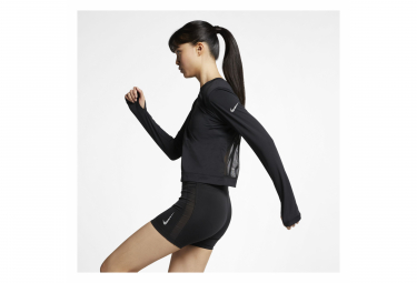 Nike Long Sleeve Jersey Women Element Black