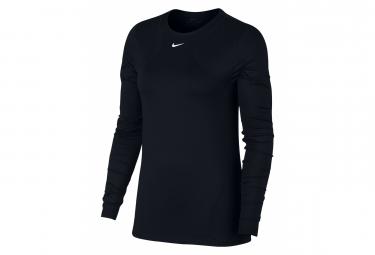 Nike Long Sleeve Jersey Women Pro Black