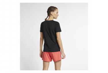 Maillot Manches Courtes Femme Nike Pro Noir