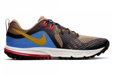 Nike Running shoes Air Zoom Wildhorse 5 Brown Kaki Yellow Blue