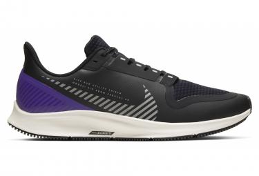 Zapatillas Nike Air Zoom Pegasus 36 Shield para Hombre Negro / Púrpura