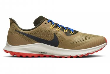 Zapatillas Nike Air Zoom Pegasus 36 para Hombre Marrón / Naranja / Caqui