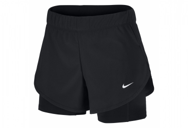 Nike Short 2-en-1 Women Flex Black