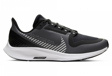 Zapatillas de running Nike Niño Air Zoom Pegasus 36 Shield Negro Blanco