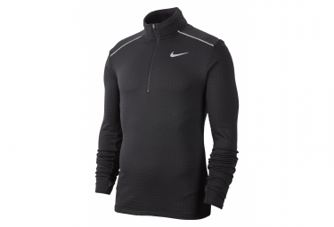 Nike Long Sleeve Jersey 1/2 Zip Men Therma Sphere Element 3,0 Black
