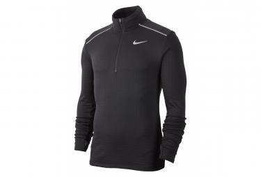 Camiseta de manga larga Nike 1/2 Zip Hombre Therma Sphere Element 3,0 Negro