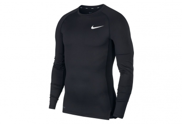 Camiseta Nike Pro Manga Larga Negro M